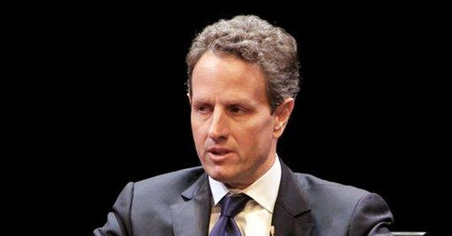 Geithner says he'll stay for 'foreseeable future'