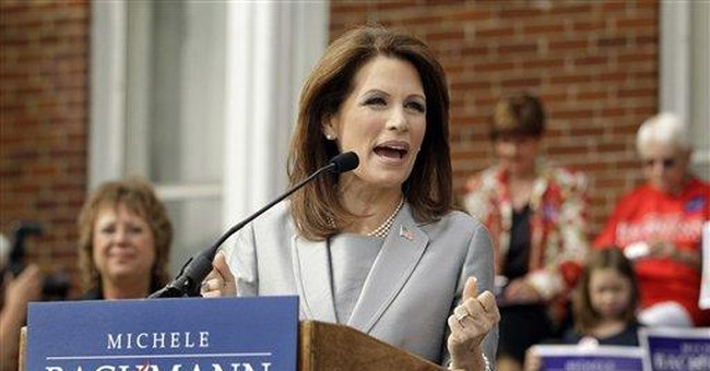 Bachmann trying to woo Iowa ahead of key GOP poll
