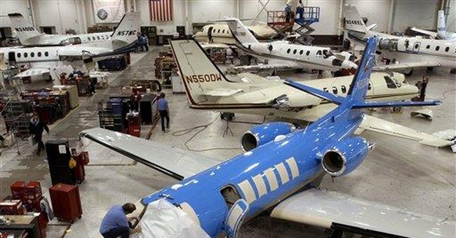 Corporate jet tax hike hits ailing plane makers