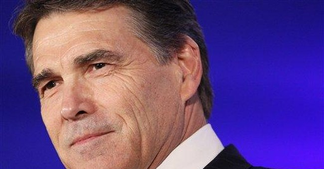 GOP Texas Gov. Rick Perry not interested in VP job