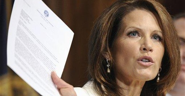 Bachmann says she, not husband, running for office