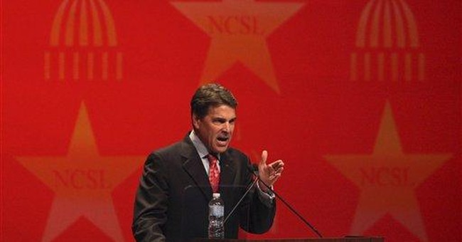Spokesman: Gov. Rick Perry running for president