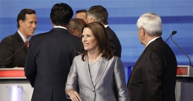 Bachmann wants Congress back to restore credit
