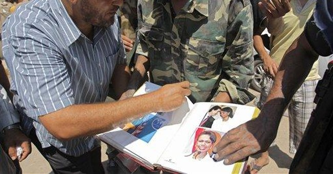 Found at Gadhafi compound: Condoleezza Rice photos