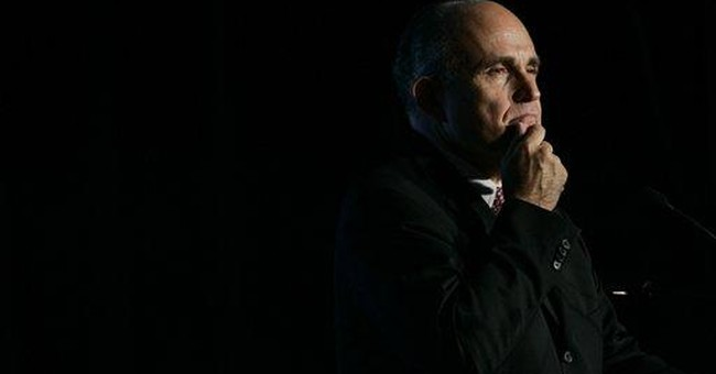 AP Interview: Post-9/11 politics of Rudy Giuliani