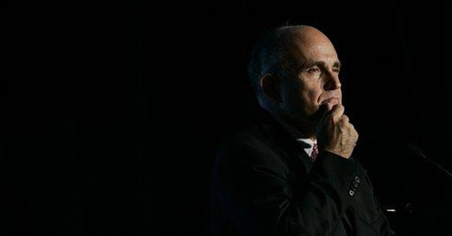 AP Interview: Post-9/11 politics of Rudy Giuliani