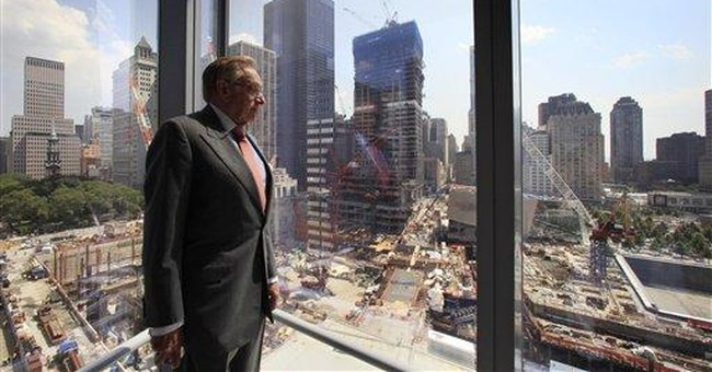 Finally, World Trade Center rises from ground zero