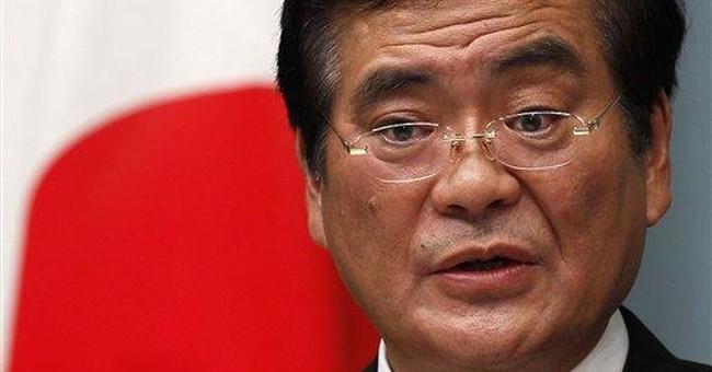 Japan minister slammed for gaffe over nuke crisis
