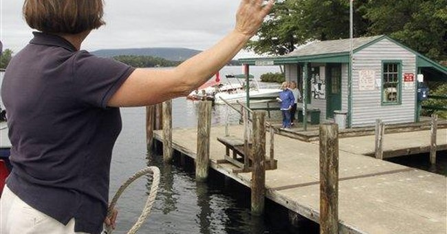 Anne Nix makes NH's floating postal office run