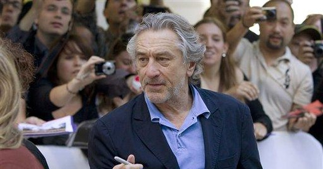 De Niro back to NYC from Toronto premiere for 9/11
