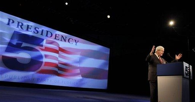 Gingrich Inc. wounded by presidential bid