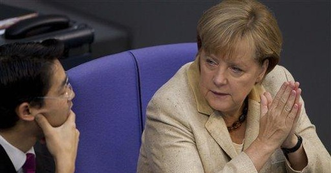 Germany keeps alive hopes for euro's future