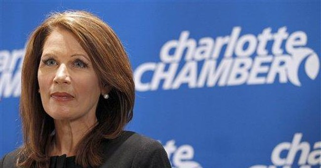 GOP's Bachmann puts negative spin on Arab Spring