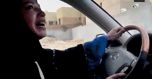 Saudi king overturns verdict against woman driver