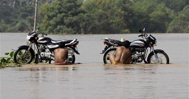 28 bodies bring India's monsoon flood toll to 335