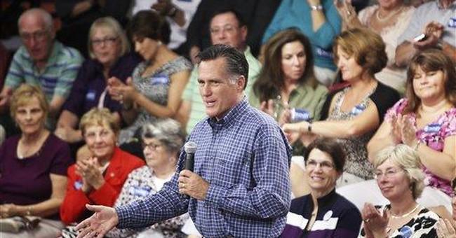 GOP activists walking _ not running _ to Romney