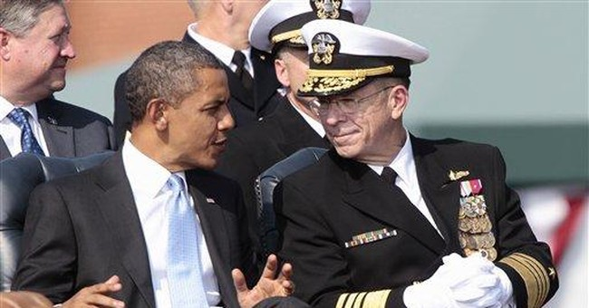 Obama welcomes new military chief replacing Mullen