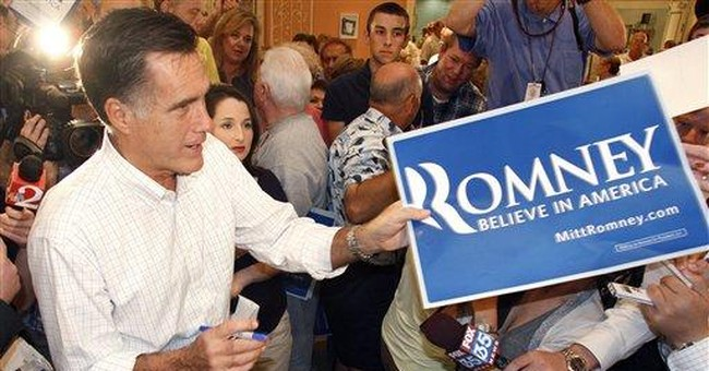"Romney warns FL seniors about ""Perry scheme"""