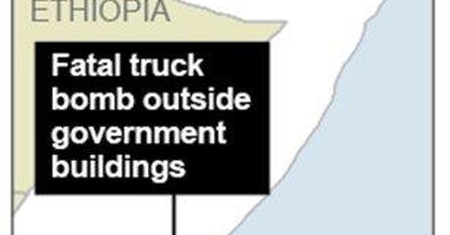 Truck bomb kills dozens in capital of Somalia