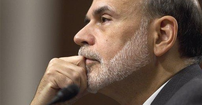 Bernanke warns recovery 'close to faltering'