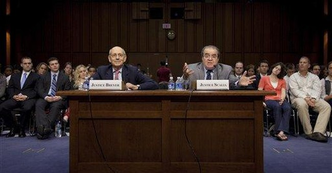 Scalia: Judges 'ain't what they used to be'