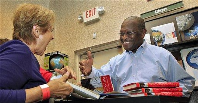 Cain rails against Wall Street protesters