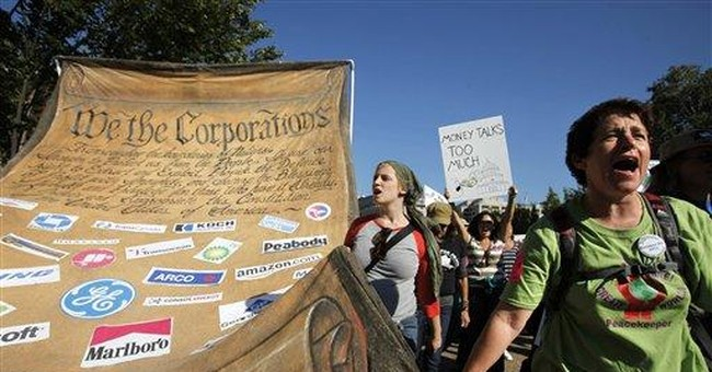 Wall Street protesters disgusted with both parties