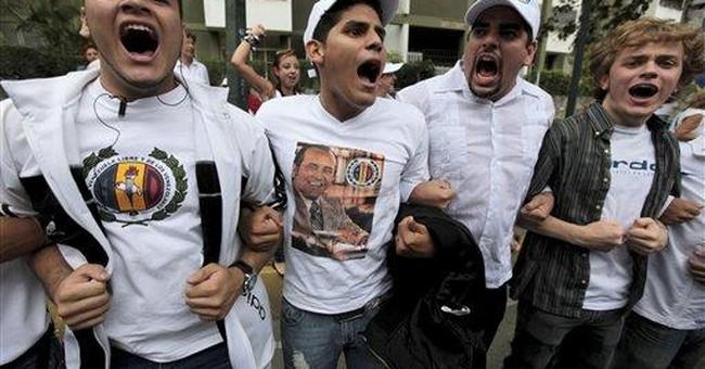 Venezuelans bury former president Perez