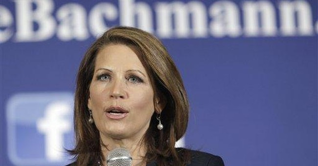Bachmann: Perry used jobs fund to reward backers