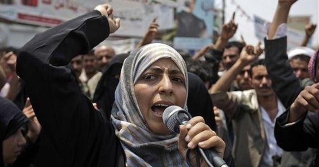 3 women share Nobel; led change in Africa, Mideast