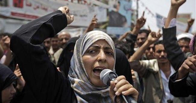 Nobel's Karman 'the mother of Yemen's revolution'