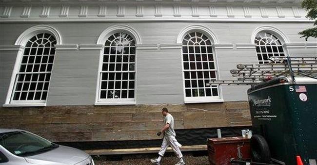 Mass. church shot during Revolution gets overhaul