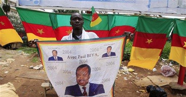 Cameroon's longtime strongman seeks another term