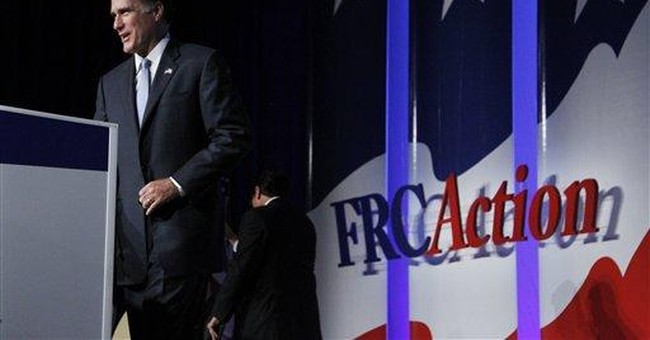 Romney responds to Mormon flare-up; Perry passes