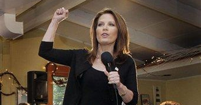 Bachmann: Debt ceiling fight kept her out of NH