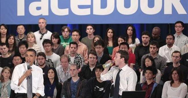 "Social media companies ""friend"" politics"