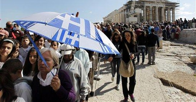 Greek deficit widens in first 9 months of year