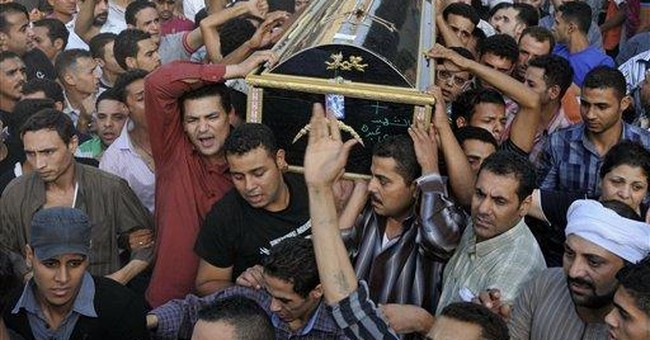 Egypt military denies shooting protesters
