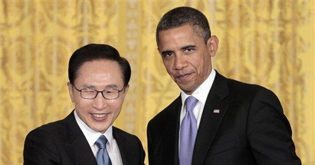 Obama hails South Korea trade deal as win for both