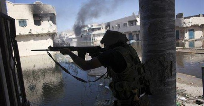 Libyan capital sees first big firefight in months