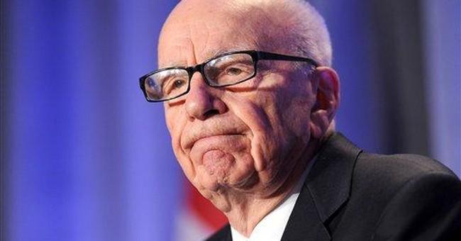 Rupert Murdoch heckled at Calif. education forum