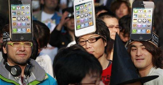 New iPhone launch turns into remembrance for Jobs