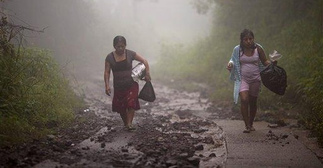 105 dead in Central America after days of rain