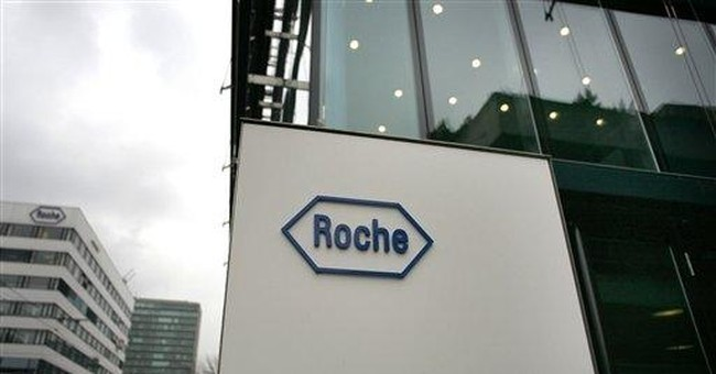 Roche to buy US-based Anadys for $230 million