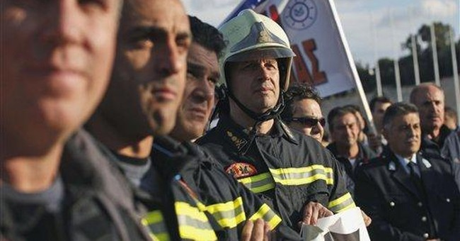 Strikes swamp Greece in decisive crisis week