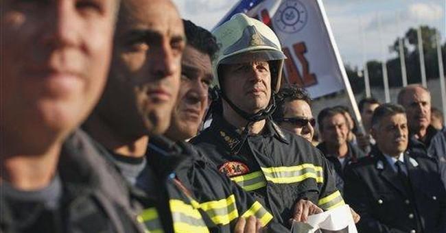 Strikes swamp Greece in decisive crisis week