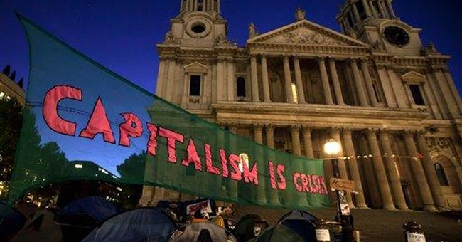 Protesters remain outside St. Paul's Cathedral