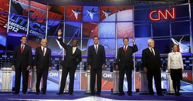GOP candidates spar on border fence during debate