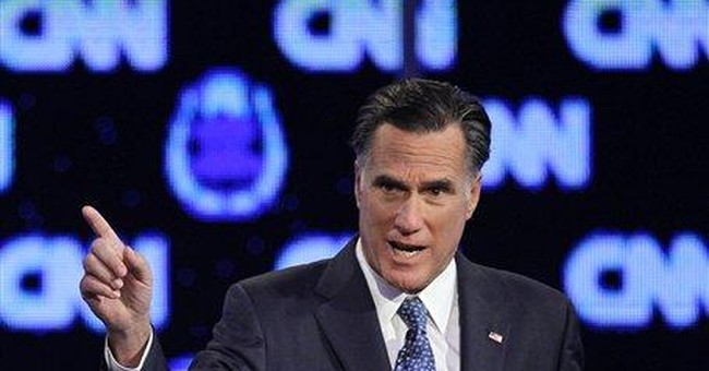 Romney speech touts ability, as video rips Perry's