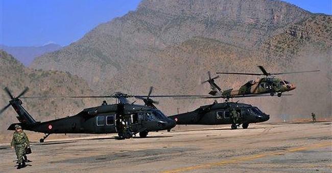 Turkey launches incursion into Iraq